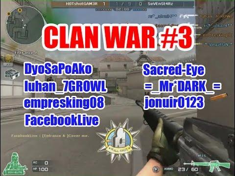 H0TshotGAM3R Crossfire Ph Clan War Gameplay #3