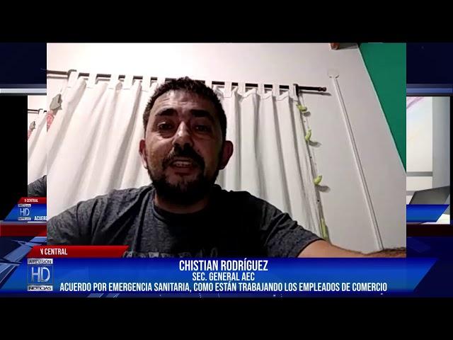 Chirstian Rodríguez Sec  Gral de AEC  VmixCall en VIVO