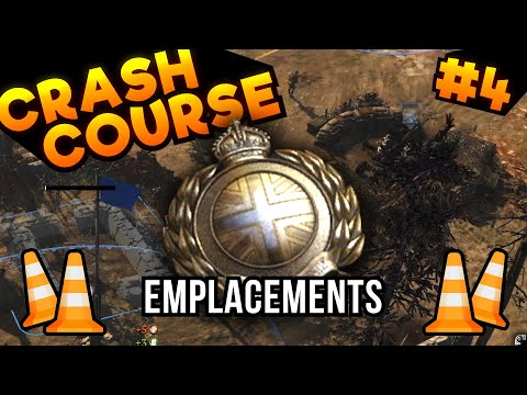 COH2 CRASH COURSE #4: Emplacements + UKF — Company Of Heroes 2