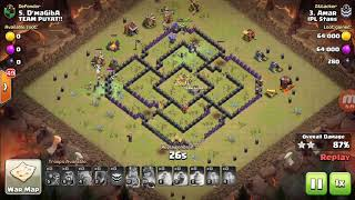 GO-WI-BO (GROUND ATTACK) BEST ARMY COMPOSITION NEVER FAILED IN TH9.