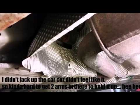 How To Fix A Rattling Heat Shield Under Your Car Youtube