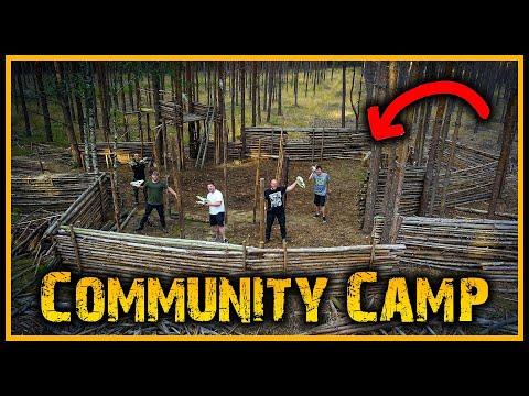 Größtes Bushcraft Camp auf Youtube? - Outdoor Bushcraft Deutschland