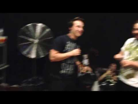 Joe's sneaky walk - Born of Osiris Perth show at the Bakery