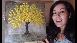 Peindre un Arbre - Peinture Acrylique Facile