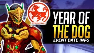 Overwatch NEXT EVENT - Year of the Dog Event Dates!