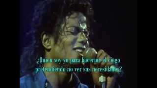 Michael Jackson - Man in the mirror (sub español)