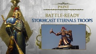 Paint: Battle-Ready Stormcast Eternal Troops
