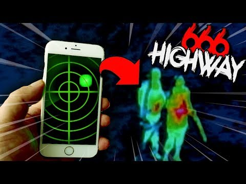 "Searching for the ""666 Highway"" Monster.. (real creepy footage)"