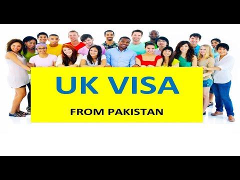 UK (England) - visit visa requirements in pakistan