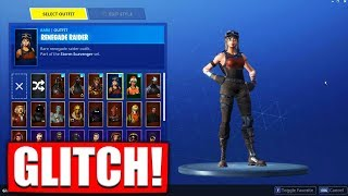 EVERY Fortnite SKIN FREE get GLTICH in SEASON 10! 😱 I MAKE him and THEN..