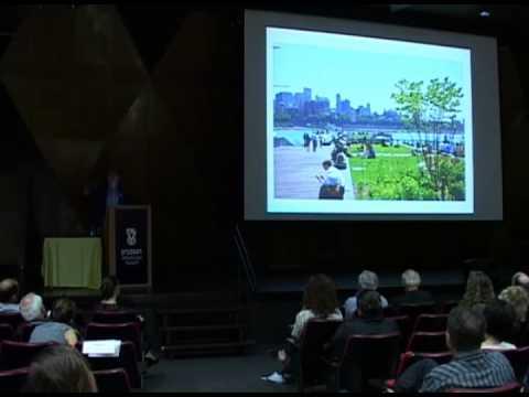 Gregg Pasquarelli - Waterfront conference - Technion Architecture lecture