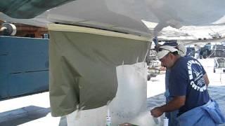 Jeanneau 57 Keel Instalation Part 4 by Dan Van Zanten 760-815-6456