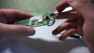 Philips xenium e160. Восстановление динамика.
