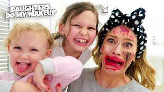 DAUGHTERS DO MY MAKEUP!!
