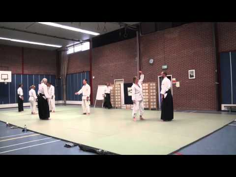 Aikido Yuishinkai Alkmaar training 25-04-2016