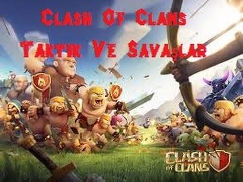 Bilgisayarda Clash Of Clans | Klan Savaşları Ve Taktikler | 3 Yıldız Aldık