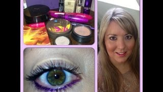 Make-Up Tutorial - No Eyeshadow Colour Eyeliner Look Thumbnail