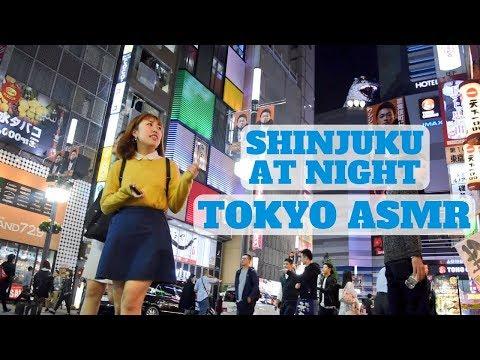 Shinjuku, Tokyo At Night ASMR