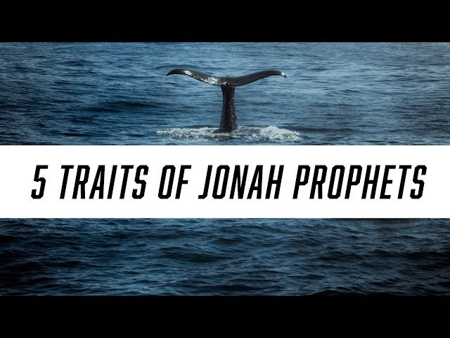 5 Traits of 'Jonah' Prophets | How Prophets Fail to Advance