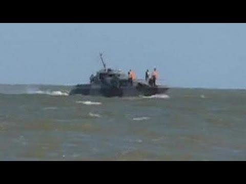 Взрыв катера: один из украинских силовиков погиб