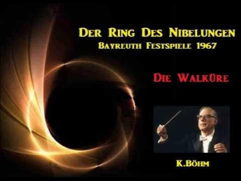 """R.Wagner Ep.1 """"Die Walküre"""" [ K.Böhm Bayreuth-FO ] (1967)"""
