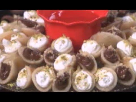سمان مشوي والرقاق باللحمه المفرومه وقطايف محشيه نونا | البلدي يوكل PNC FOOD