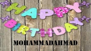 MohammadAhmad   wishes Mensajes