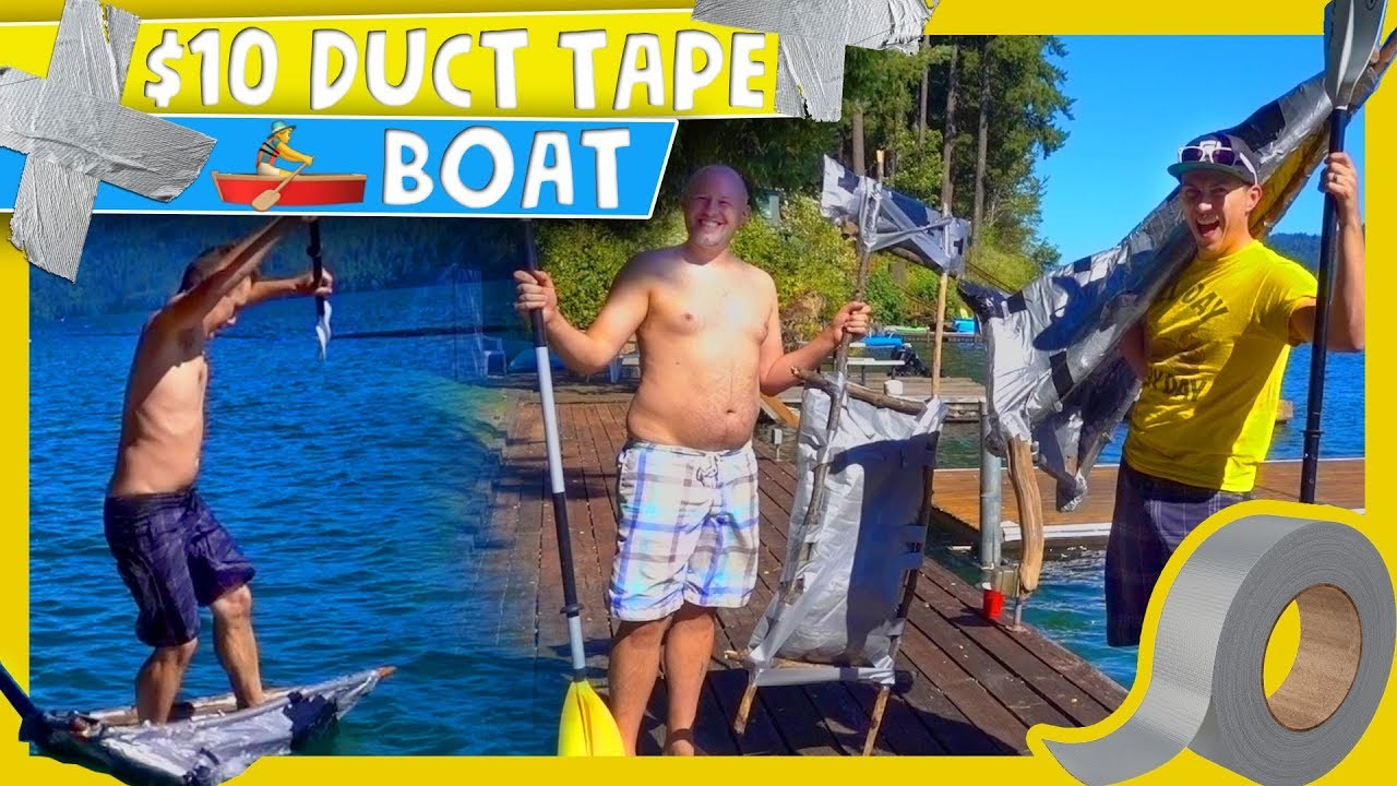 10 Duct Tape Boat Challenge