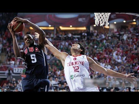 USA vs Turkey 2010 FIBA Basketball World Championship Gold Medal Final FULL GAME HD 720p English