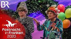 Heißmann & Rassau als Witwen | Fastnacht in Franken 2020 | Veitshöchheim | BR Kabarett & Comedy