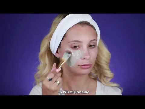 How To Use: Mermaid Marine Peel Off Mask