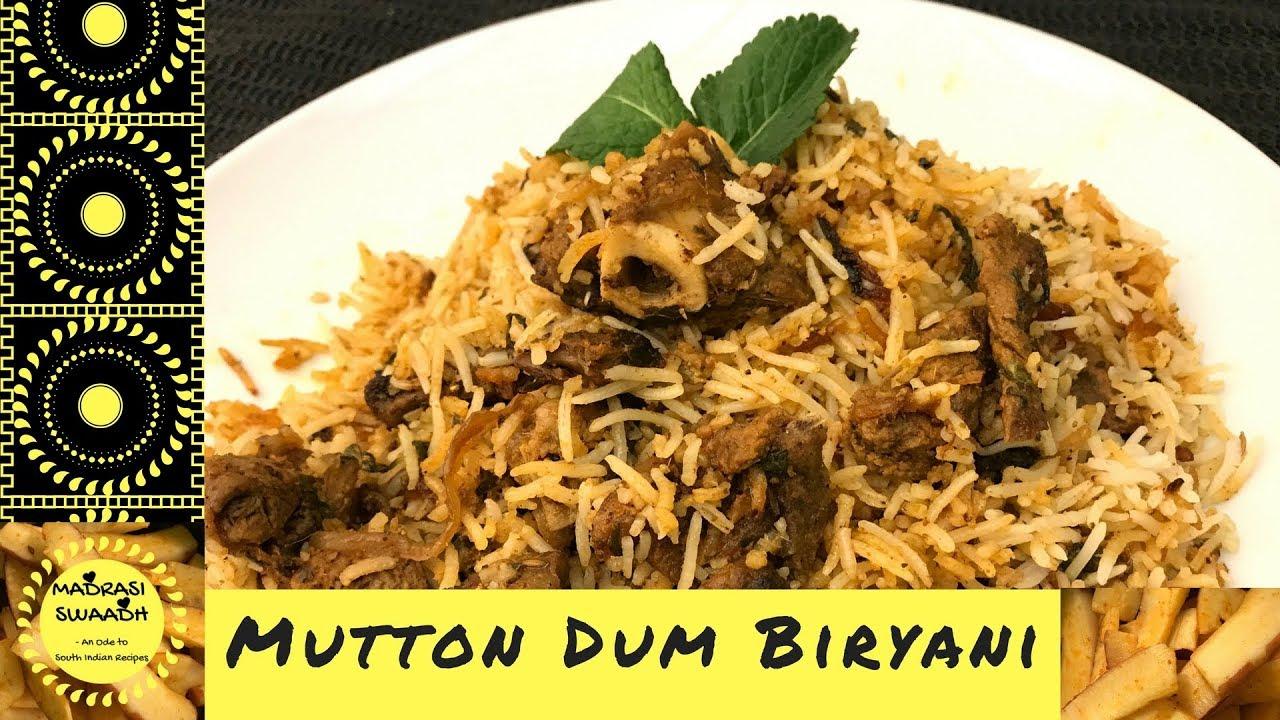 recipe: mutton dum biryani recipe in hindi [11]