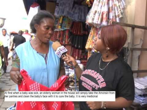 TRADITIONAL GHANAIAN AMONSIN CLOTH