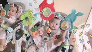 [쌍둥이☺︎☺︎육아중] twins vlog /5개월아기…