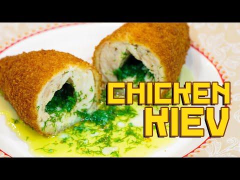 Chicken kotlet of Kiev - Cooking with Boris