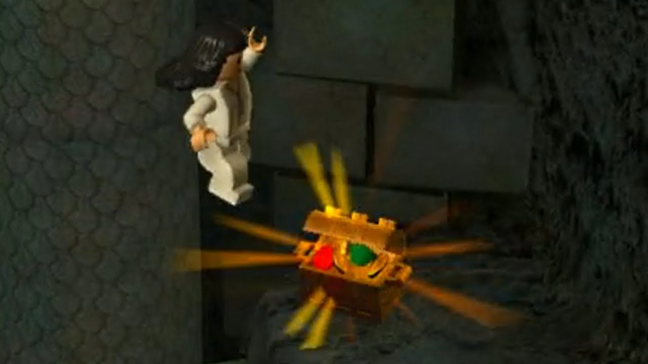 Lego Indiana Jones Secret Puzzle Room Minikit Location Youtube