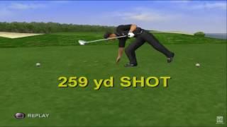 Tiger Woods PGA Tour 2001 PS2 Gameplay HD