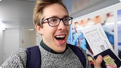 FIRST CLASS FLIGHT with Virgin Atlantic! I got an UPGRADE! LHR to LAX  | Evan Edinger Travel