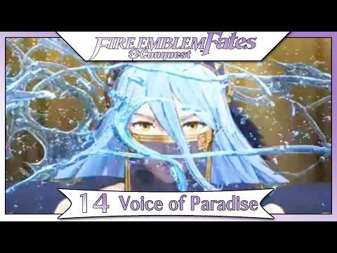 Fire Emblem Fates Conquest - Part 10  | Chapter 14 - Voice of Paradise! [Non-DLC Walkthrough]