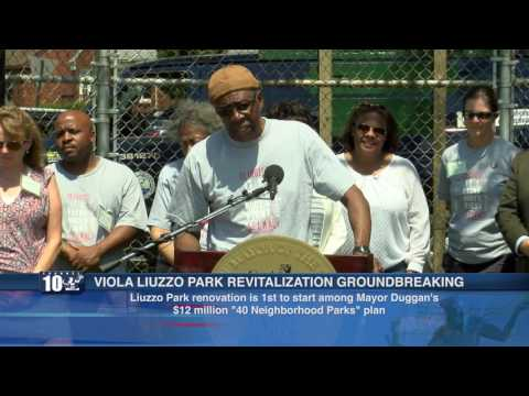 VIOLA LIUZZO PARK REVITALIZATION GROUNDBREAKING PRESS CONFERENCE