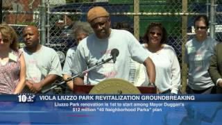 VIOLA LIUZZO PARK REVITALIZATION GROUNDBREAKING PRESS CONFERENCE(, 2016-07-12T23:39:10.000Z)