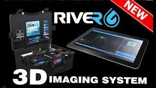 Features and characteristics of 3D imaging system in RIVER G underground water detector