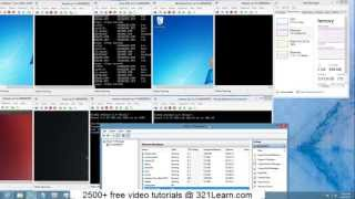 10 Concurrent Operating Systems Running on $500 pc with Windows 8 Pro and Hyper-v