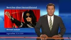 Michael Jackson ist tot - Meldung vom 26.06.09 / 0:40 Uhr