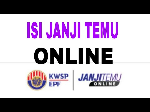 Cara Isi Borang Janji Temu Online Kwsp Tutorial12 Youtube
