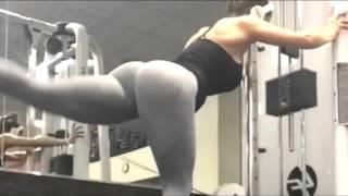 Красотка Brittany Perille_ Fitness Motivation _ Girls go to gym. Самая сексуальная фитоняшка.