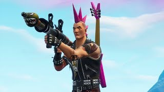 "LE TURN OF THE BAZUQUEIROS MODE ET NEW SKIN ""REBEL""! (Fortnite Battle Royale)"
