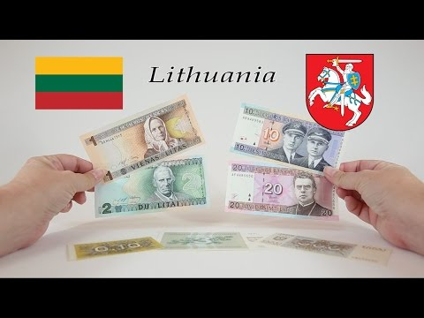 Episode #14 - LITHUANIA - Talonas and Litas Banknotes
