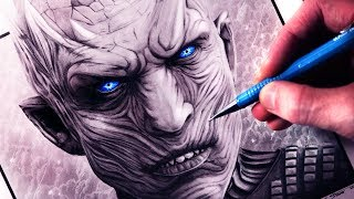 Let's Draw the NIGHT KING from GAME OF THRONES - FAN ART FRIDAY