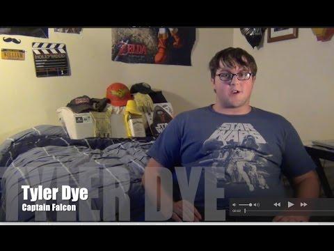 Tyler Dye (Captain Falcon) Interview - Smash Bros.